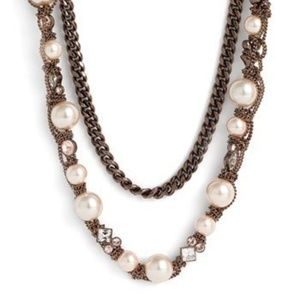 Signed Long Givenchy Pearl Vanguard Bronze